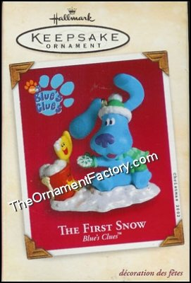 2002 First Snow, Blues Clues