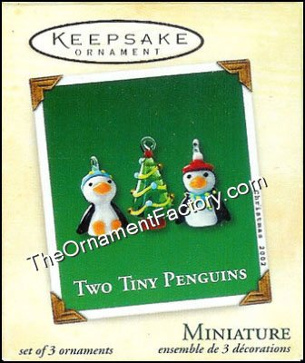 2002 Two Tiny Penguins, Miniature