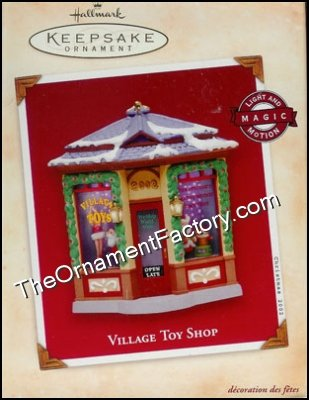 2002 Village Toy Shop, Magic