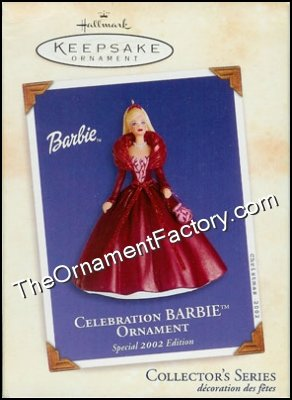 2002 Celebration Barbie #3, DB