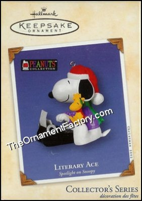 2002 Spotlight on Snoopy #5 - Literary Ace, Peanuts