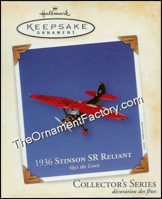 2003 1936 Stinson SR Reliant, Sky's the Limit #7