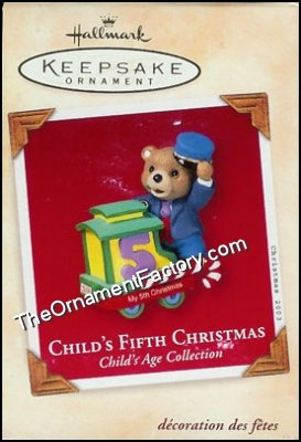 2003 Child's Fifth Christmas, Child's Age