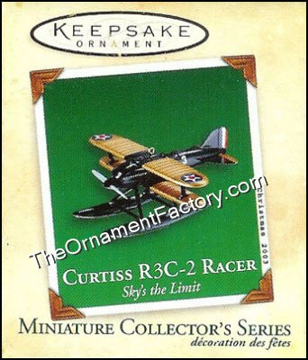 2003 Curtiss R3C-2 Racer, Sky's the Limit Miniature