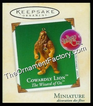 2003 Cowardly Lion, The Wizard of Oz, Miniature