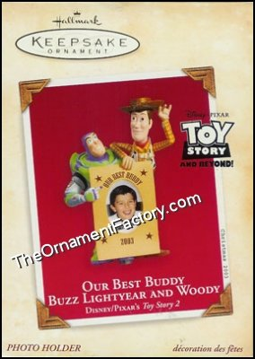2003 Our Best Buddy Buzz Lightyear and Woody