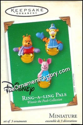 2003 Ring A Ling Pals, Winnie the Pooh, Miniature