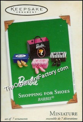 2003 Shopping for Shoes, Barbie, Miniature