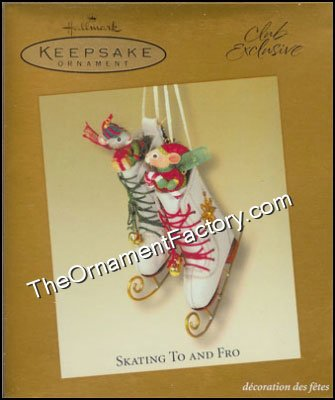 2003 Skating To and Fro, Club Ornament