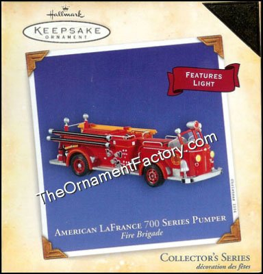 2004 American LaFrance 700 Series Pumper, Fire Brigade COLORWAY
