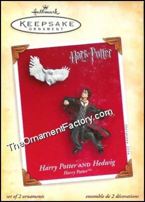 2004 Harry Potter and Hedwig - DB