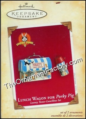 2004 Lunch Wagon for Porky Pig, Loony Tunes Lunchbox Set