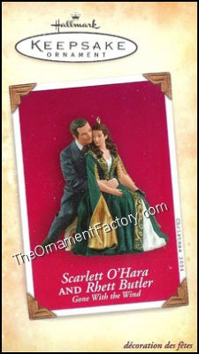 2004 Scarlett O'Hara and Rhett Butler, Gone With the Wind - DB