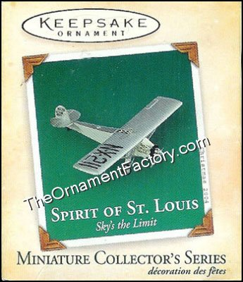 2004 Spirit of St. Louis, Sky'??s the Limit Miniature
