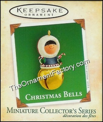 2004 Christmas Bells #10, Frosty Friend,  Miniature