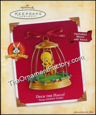2004 Deck the Halls Tweety, Magic