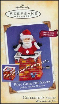2004 Pop Goes the Santa, Jack in the Box #2 - DB