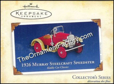 2005 1926 Murray Steelcraft Speedster, Kiddie Car Classics #12 - DB
