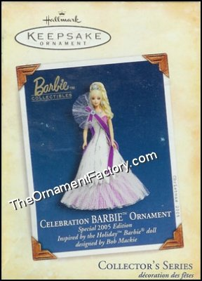 2005 Celebration Barbie #6 DB