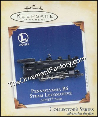 2005 Lionel #10 - Pennsylvania B6 Steam Locomotive DB
