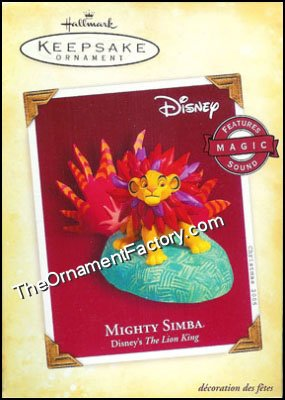 2005 Mighty Simba, Disney's The Lion King