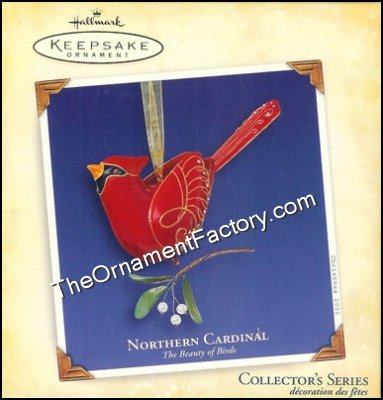 2005 Northern Cardinal, Beauty of Birds #1 - RARE