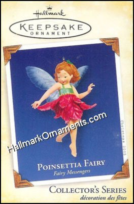 2005 Poinsettia Fairy, Fairy Messengers #1 - RARE!