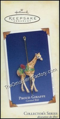 2005 Carousel Ride #2, Proud Giraffe - VERY RARE