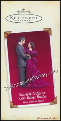 2005 Scarlett O'Hara and Rhett Butler, Gone With the Wind