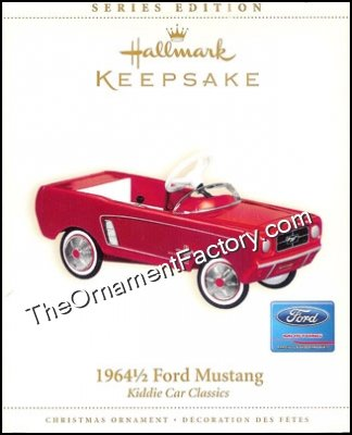 2006 1964 1/2 Ford Mustang, Kiddie Car Classic #13, RARE