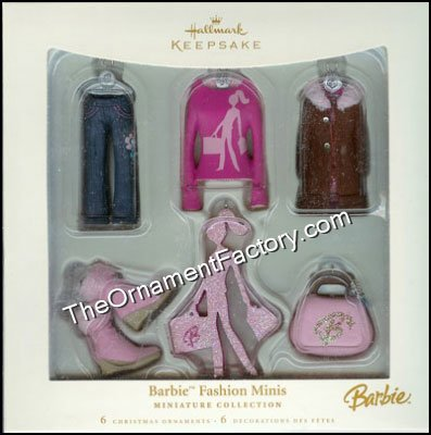 2006 Barbie Fashion Minis, Miniature