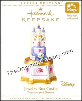 2006 Jewelry Box Castle, Treasures and Dreams #5
