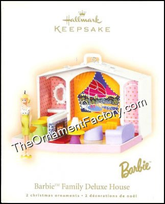2007 Barbie Family Deluxe House DB