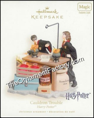 2007 Cauldron Trouble, Harry Potter, Magic - HTF DB