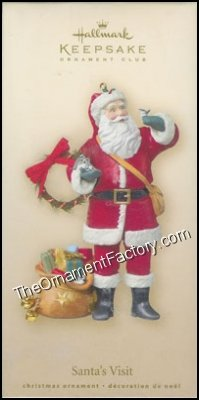 2007 Santas Visit, Club Ornament