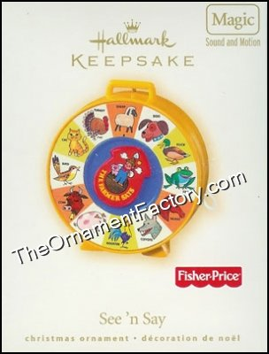 2007 See N Say, Fisher Price