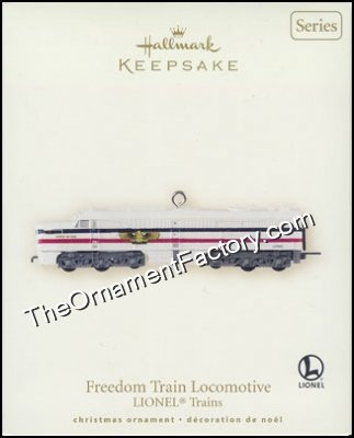 2007 Lionel #12 - Freedom Train, Lionel Trains DB