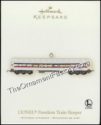 2007 Lionel Freedom Train Sleeper