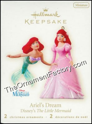 2008 Ariel's Dream, The Little Mermaid, Disney