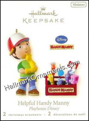 2008 Helpful Handy Manny, Miniature