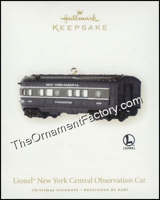 2008 Lionel New York Central Passenger Car