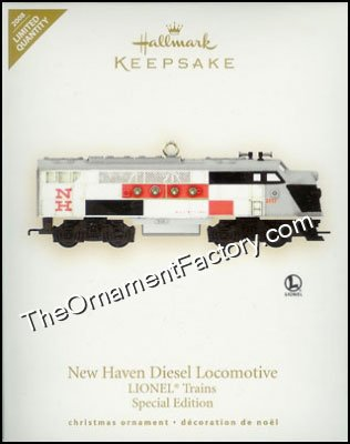 2008 Lionel New Haven Diesel Locomotive, Limited Quantity