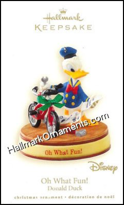 2008 Oh What Fun!, Donald Duck