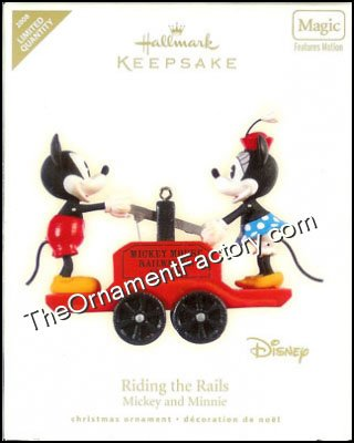 2008 Riding the Rails, DISNEY - Limited Quantity DB
