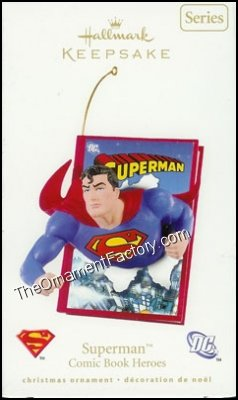 2008 Superman, Comic Book Heroes #1 DB