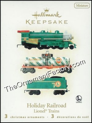 2008 Holiday Railroad, Lionel, Miniature
