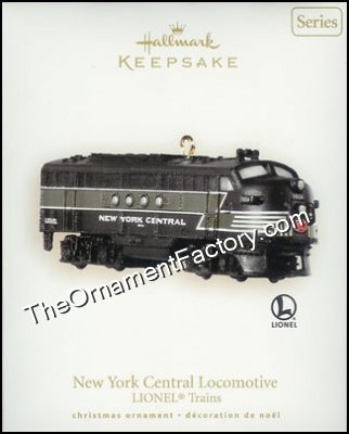 2008 Lionel #13, Lionel New York Central Locomotive