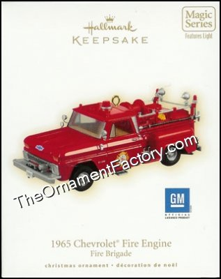 2009 1965 Chevrolet Fire Engine, Fire Brigade #7 DB