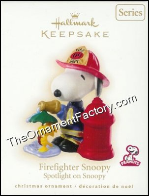 2009 Firefighter Snoopy, Spotlight on Snoopy #12, Peanuts