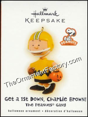 2009 Get a 1st Down Charlie Brown, Peanuts Halloween
